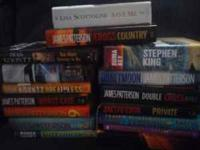 I have a box of hard back books for sale. All different