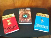 Hard Cover books by Danielle Steel, Luanne Rice, Debbie