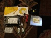 I have an internal disk drive kit with the manual, a