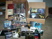 OVER 250 Hard Rock and Heavy Metal CD's!! ALL IN LIKE