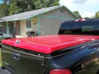 Hard Tonneau Cover for sale $125.00. Has new shocks.