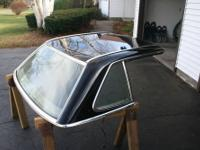 Hard top (black) for 1985 Mercedes coup/convertible,