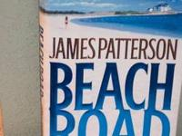 5 Hardcover books $3.00 each James Patterson BEACH ROAD