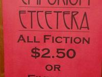 Our whole variety of FICTION is on SALE! Any one of our