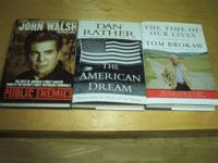 6 BRAND NEW HARDCOVER BOOKS $2.50 EACH OR ALL 6 FOR