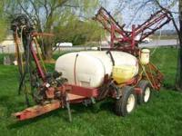 Hardi 500gal Sprayer 45ft booms Manual Control Rebuilt