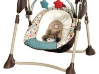 I have a new model baby swing used 3 times when my baby