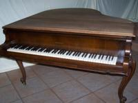 Gorgeous Hardman Baby Grand Piano. Serial Number, Age