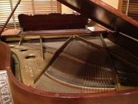 This piano is an antique.Wood has been professionally