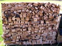 Hardwood firewood. This wood is from cut up pallets so