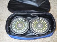 FOR SALE:  A HARDY MARQUIS 8/9 FLY REEL AND EXTRA SPOOL