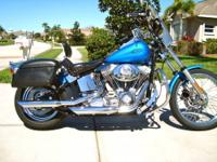 THIS IS A ONE OWNER, FEMALE RIDDEN, STANDARD SOFTAIL