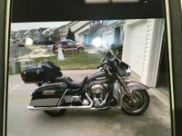 Harley 2013 ultra has 13000 miles garage kept comes