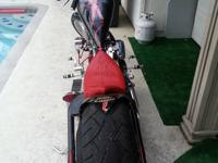 I am selling my Harley Chopper, every inch of this bike