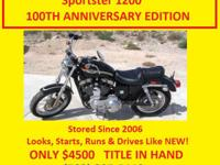 Make: Harley Davidson Condition: Used 2003 HARLEY