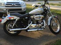 I'm selling my 2005 Harley Davidson Sportster 1200