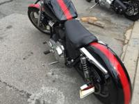 Custom Harley 1989 FXRS Custom fenders Wide Glide front