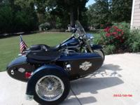 EXCELLENT CONDITION .SPYDER . SIDE CAR MANUFACTURED BY