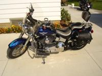 2006 Harley-Davidson Softail Fat Boy Cruiser with many