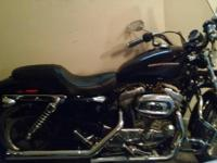 Black and Chrome, loaded, Vance and Hines slip ons,