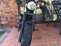 For sale is my 2013 iron 883, 1650 k's only Extras