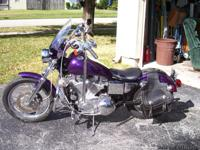 Harley Davidson 883 Sportster 2000. Mileage 30,652.