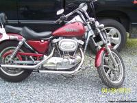 1984 XR 1000 HARLEY DAVIDSON IRON HEAD SPORTSTER. CANDY