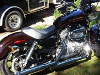 2011 HD Sportster Superow 883 Great bike in like new