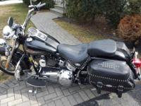 This is a 2008 heritage softail. Bike is like brand