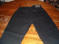 These are a pair of black harley davidson ladies jeans