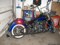 Selling my' 2006 Harley Davidson Deluxe. ( Low Mile's,