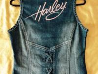 NEW - Never Used! * Size Small * 99% cotton denim - 1%