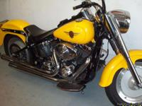 THIS IS A 2001 FAT BOY 19,000 MILES, ORIGINAL OWNER,
