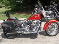 2008 Harley Davidson Fatboy: has a little over 13,000