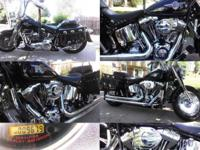 Have Black 2004 Harley Davidson Fatboy, upgraded
