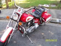 Harley San-T Good runing Motorcycle milage 18000 not