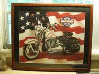 "HUGE 28""x34"" framed puzzle of an american classic. the"