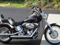 2007 Harley Davidson Softail custom like new