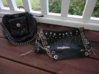 For Sale...Leather Harley Davidson purses, hardly used