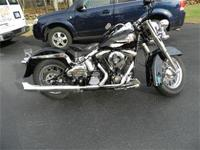 This is an effectively maintained 1991Harley Davidson