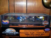 New in box. Harley Davidson Hot Wheels Rumble Road