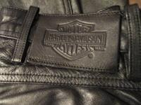 Genuine Leather, Harley Davidson, soft leather,