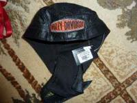Harley Davidson leather skully,black size sm. Must See!