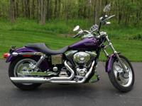 For sale is a Harley Davidson Low Rider with 21,800