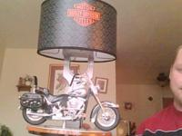 i have a really nice harley davidson motorcycle lamp,