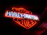Harley Davidson neon sign. Sign is new,sold in the box,