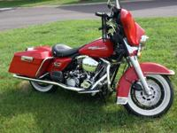 Frame and metal is 1995 FLHTC Electra Glide, motor,