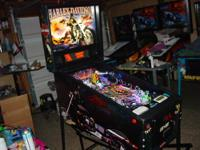 This is an extremely nice Harley Davidson pinball