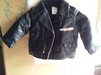 Size12months Harley Davidson pleather jacket. Only worn