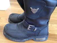 Harley Davidson Riding Boots. Used ~8 times, so like